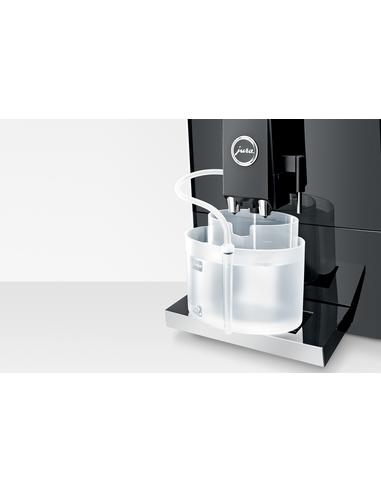 Reservoir voor melksysteemreiniging