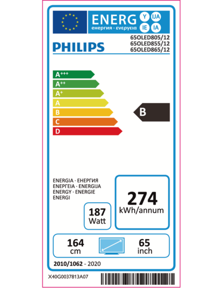 Philips 65OLED855/12